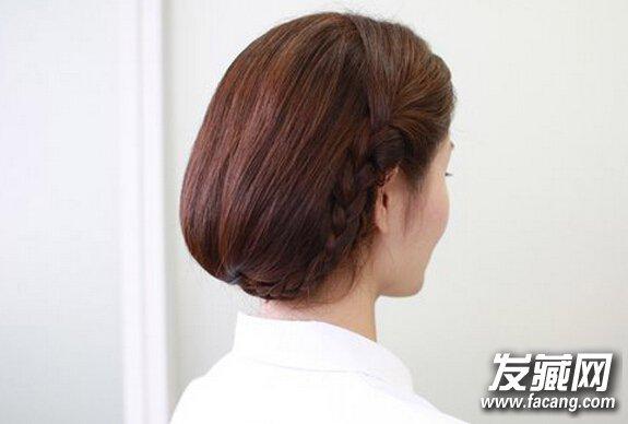 【图】长发变短发的扎法 只需要八步_女生长发发型_发图片
