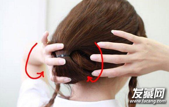 长发变短发的扎法 只需要八步(2)