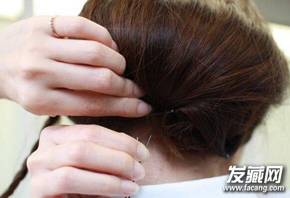【图】长发变短发的扎法 只需要八步(3)_女生长发发型