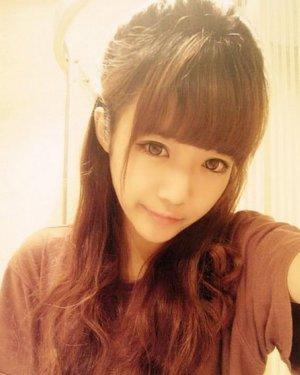 最新365bet 6款齐刘海可爱发型