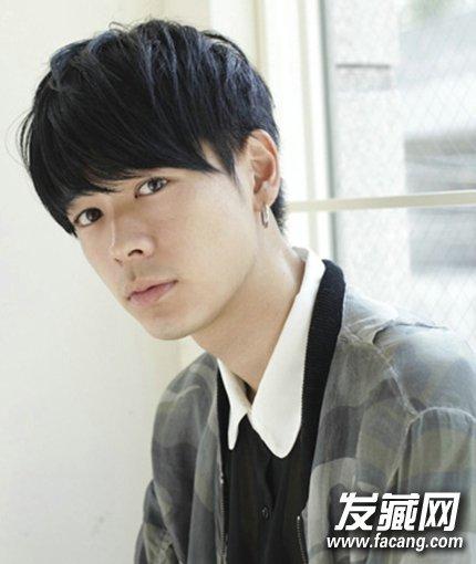 韩国男生直刘海短发发型(4)