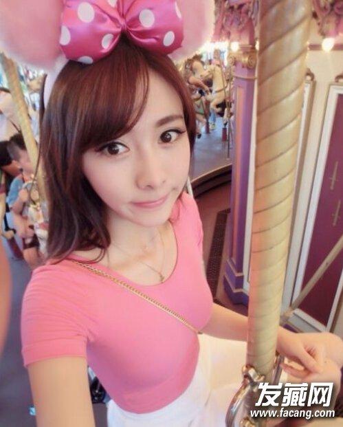 赵丽颖发型 齐刘海 高马尾造型 看起来十分乖巧的女生,斜刘海的 长发