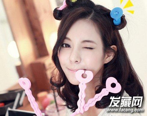 韩式长卷发发型图片 2016年你爱的都 →各式蛋卷头发型图片大写的可爱