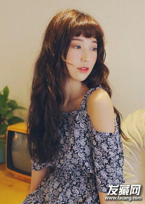 【图】2015年流行长卷发发型图片