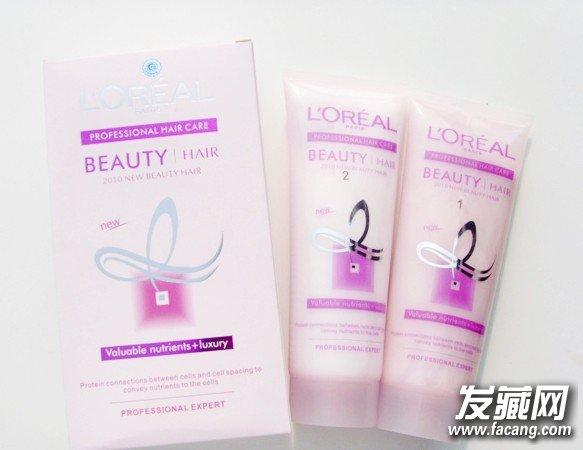 欧莱雅品牌直发膏的介绍图图片