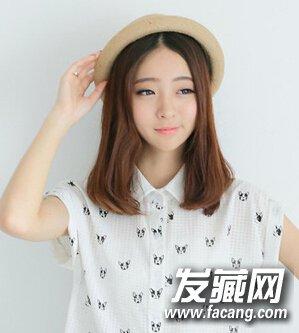 时尚流行直发发型设计(2)图片