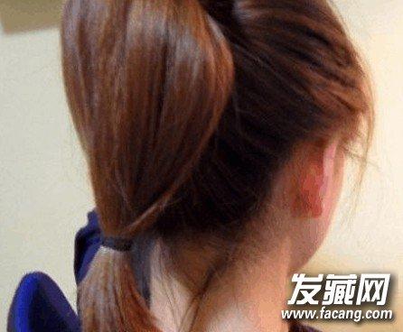 优雅典雅的珍珠盘发器步骤图解 →头花盘发器的使用方法简便好看图片