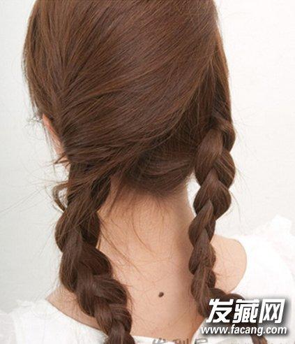 长发披着没新意 2款简单盘发打造专属时尚感 →陈妍希中式新娘发型