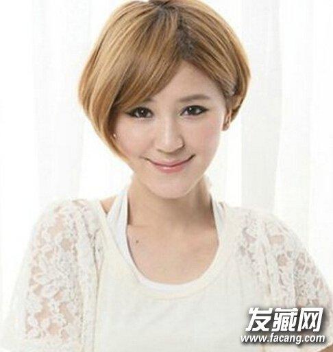 【图】日式女生波波头短发(3)_bobo发型_发藏网图片