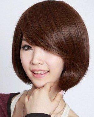 最新流行甜美波波头短发发型