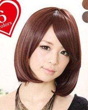 【直发发型图片_直发发型怎么扎好看_直发梨花头图片