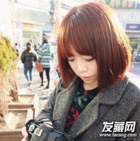 时尚俏丽短发波波头发型(5)图片