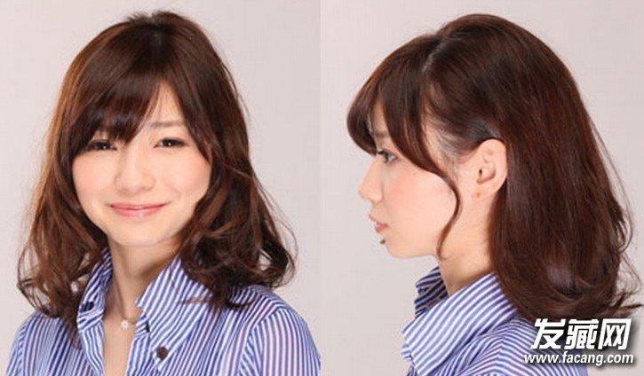 韩式丸子头扎法图解 简单丸子头发型甜美超 →齐肩发怎么扎丸子头
