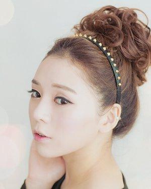 俏皮可爱的丸子头扎法 2款实用短发发型扎法(5)