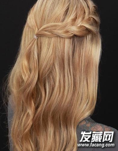 好看的编发      一款仙仙的发型,其实在各种场合都特别实用.