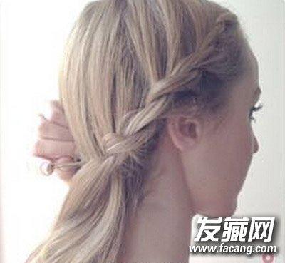 发型设计 盘发发型 > 简单气质盘发教程 高贵又显气质(8)  导读:步骤7