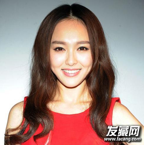 《何以笙箫默》唐嫣偏分韩式刘海波波头发型(5)