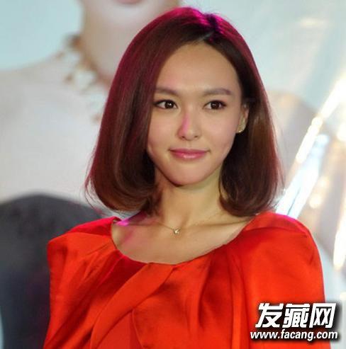 《何以笙箫默》唐嫣偏分韩式刘海波波头发型(9)