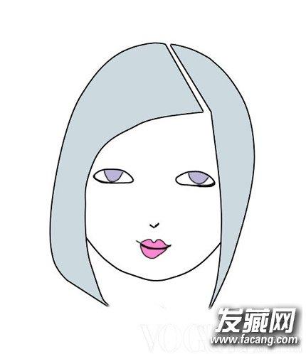 女生卡通头像圆形