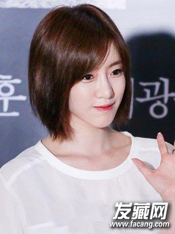 【图】韩式甜美中短发波波头发型