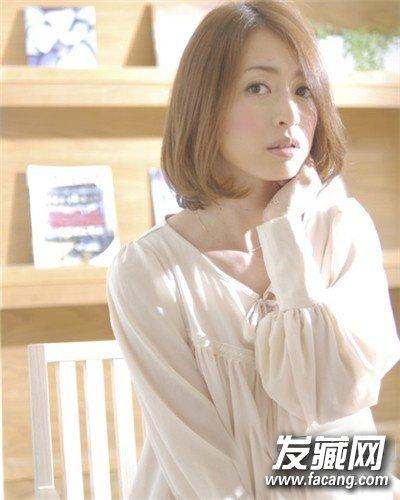 学生妹知性女生短发发型 日系甜美风(6)图片