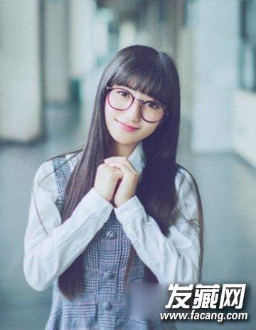 9款中学生清纯发型 可爱造型不负青春(2)