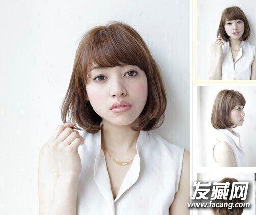 中短发烫什么发型好看 时尚发尾烫发发型(9)