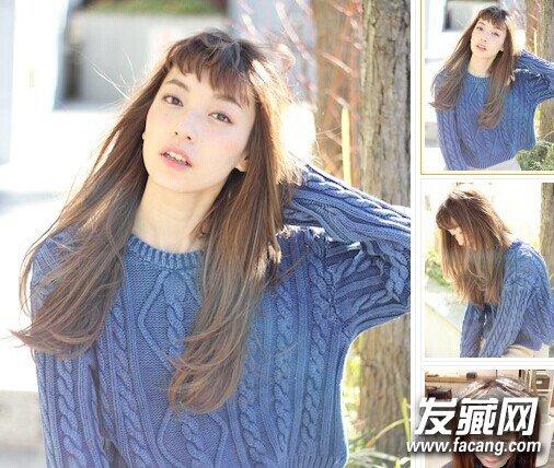 长发卷发发型 层次感卷发最受欢迎图片