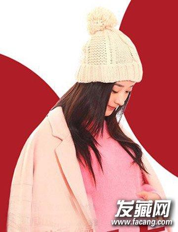 清纯可爱赵丽颖发型 长发造型萌辣十足(3)