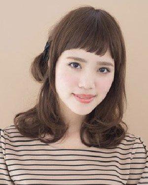 丸子头mix公主头 可爱清新发型扎法图片