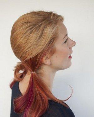 头发长到尴尬期?简单省时又可爱的发型