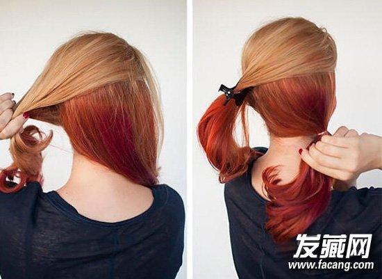头发长到尴尬期?简单省时又可爱的发型(2)