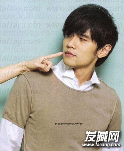 吴奇隆周杰伦吃嫩草 时尚的发型抚平年龄差(6)图片