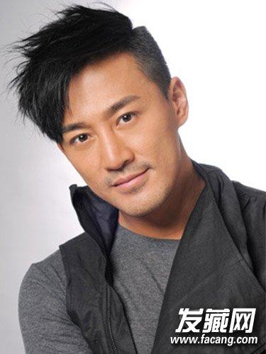 男星林峰发型 酷炫帅气朋克短发造型(2)