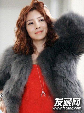 圆脸剪什么发型好看 韩式气质短发发型(2)
