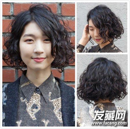 蘑菇头短发的内扣刘海发型 修颜短发持续大热(2)