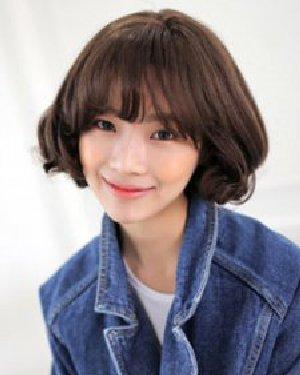 甜美的短发梨花头 9款韩式短发时尚显瘦