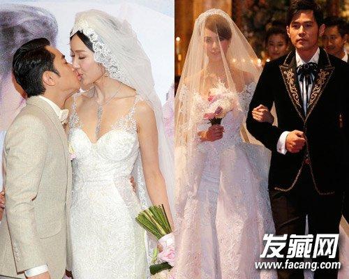 副标 →新娘发型大猜想 林心如婚纱照 →陈妍希新娘发型 准新娘图片