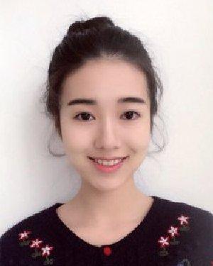 简洁漂亮韩系麻花丸子头 发根弄成丸子形状