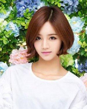 清新的韩式短发发型 绽放唯美春意