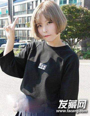 短发梨花头发型 矮个女生专属(2)