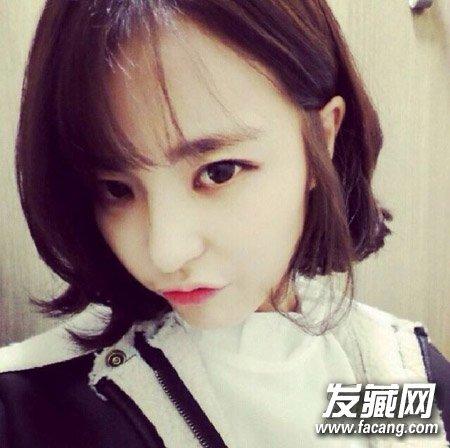 时尚韩式短发烫发发型 女生最爱短发造型盘点(7)图片