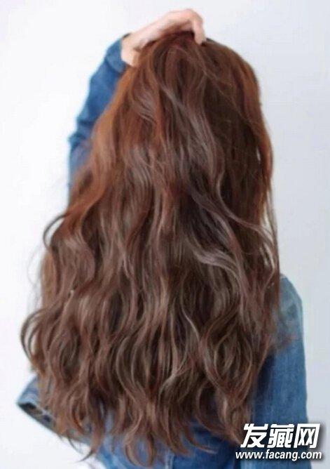 中长发发尾烫小卷发型内容|中长发发尾烫小卷发型版面设计