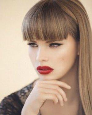 发型网 发型标签大全 > 刘海发型扎法  短发怎么扎简单好看 9款扎发萌图片