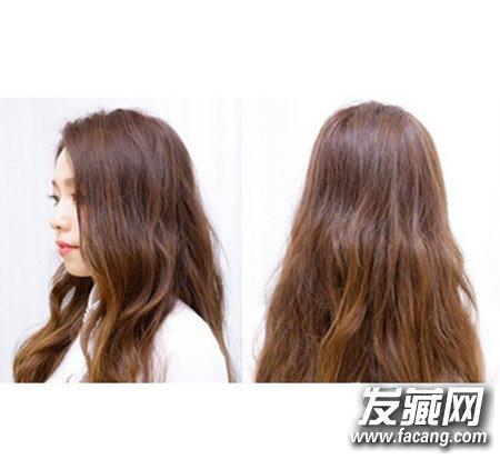 双马尾扎发娇俏可爱发型 韩式减龄双马尾扎法图解(5)