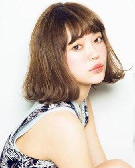 日本正流行9款女生发型 小梨花头更加浪漫