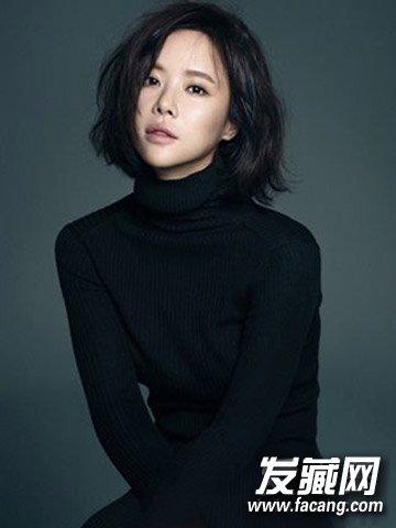 深棕色染发韩式女生短发9款学生更减龄(2)中发型长发瘦脸+发型图片