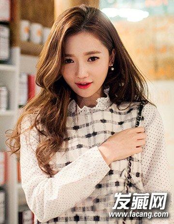 最新流行长发发型 韩式个性妩媚大卷发型(2)图片