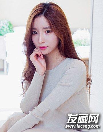 最新流行长发发型 韩式个性妩媚大卷发型(4)图片