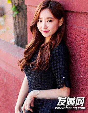 最新流行长发发型 韩式个性妩媚大卷发型(6)图片